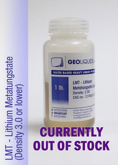 LMT_Lithium_Metatungstate-Out Of Stock